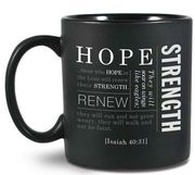 Kubek ceramiczny - Simple Faith - Hope