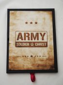 Plakat ze stali - Army Soldier of Christ