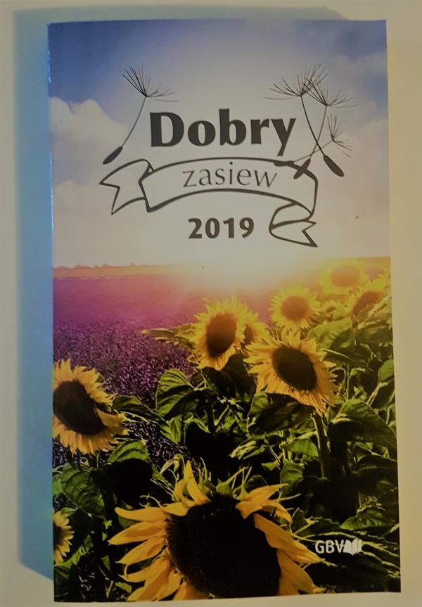 f0d051bf6e772 Kalendarz książkowy 2019 - dobry zasiew – Jack.pl – Chrześcijańska ...